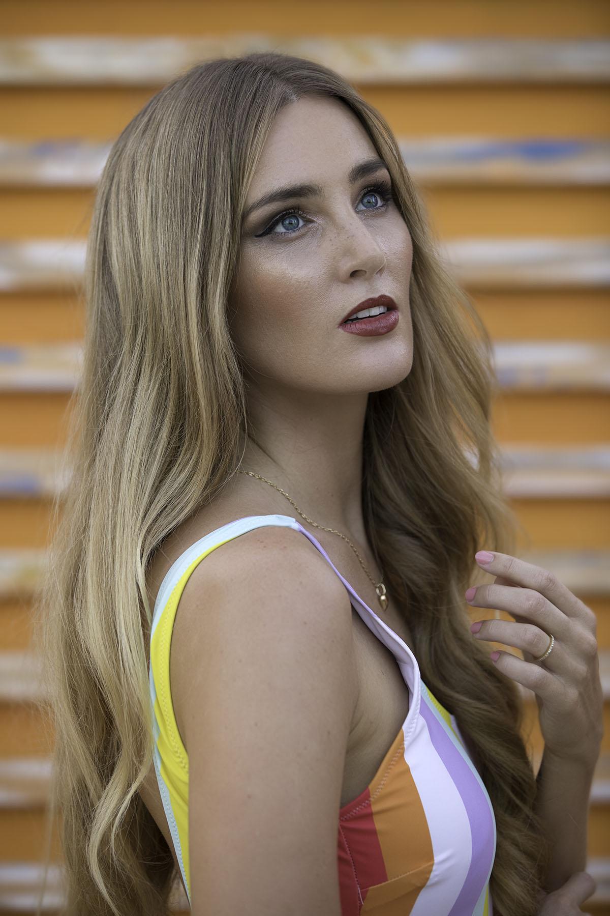 Fashion portrait by Loesje Kessels Fashion Photographer Dubai