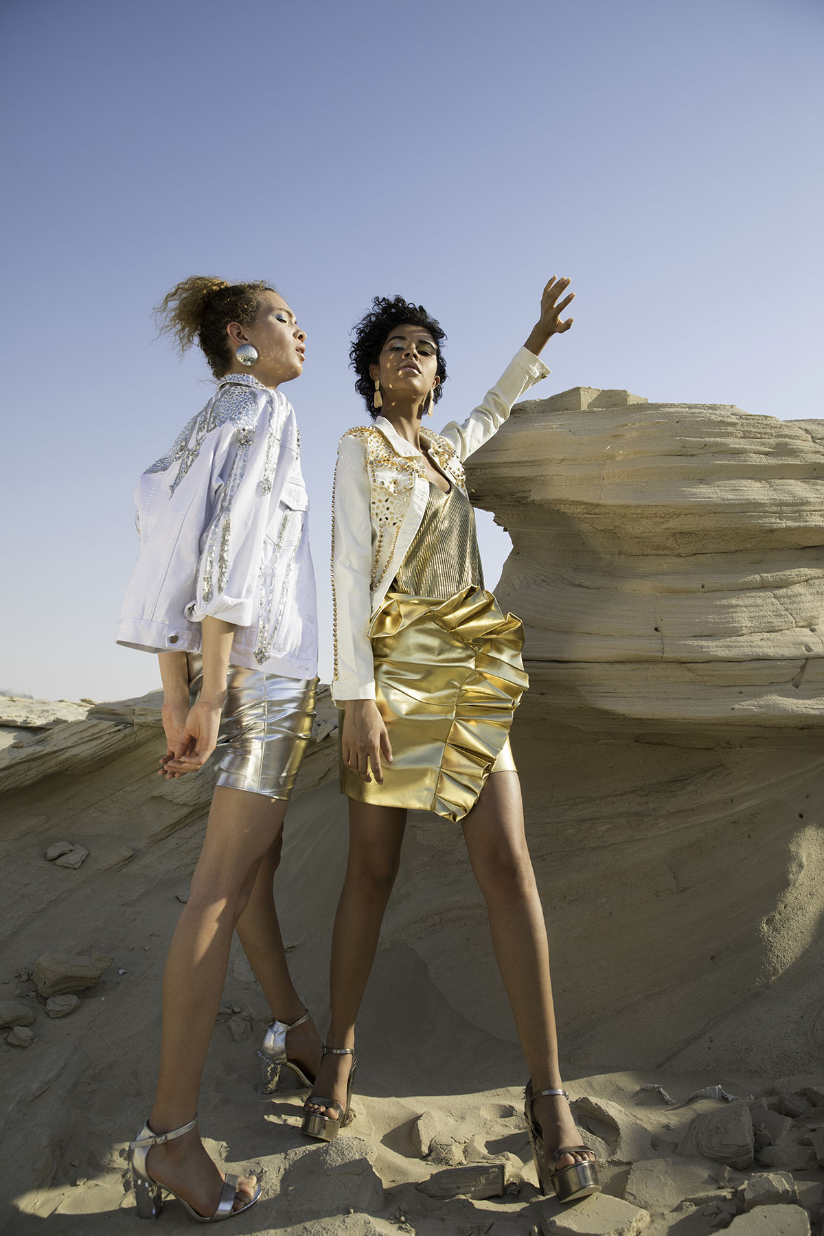 Fashion editorial shoot for Atelier Zuhra by Loesje Kessels Fashion Photographer Dubai