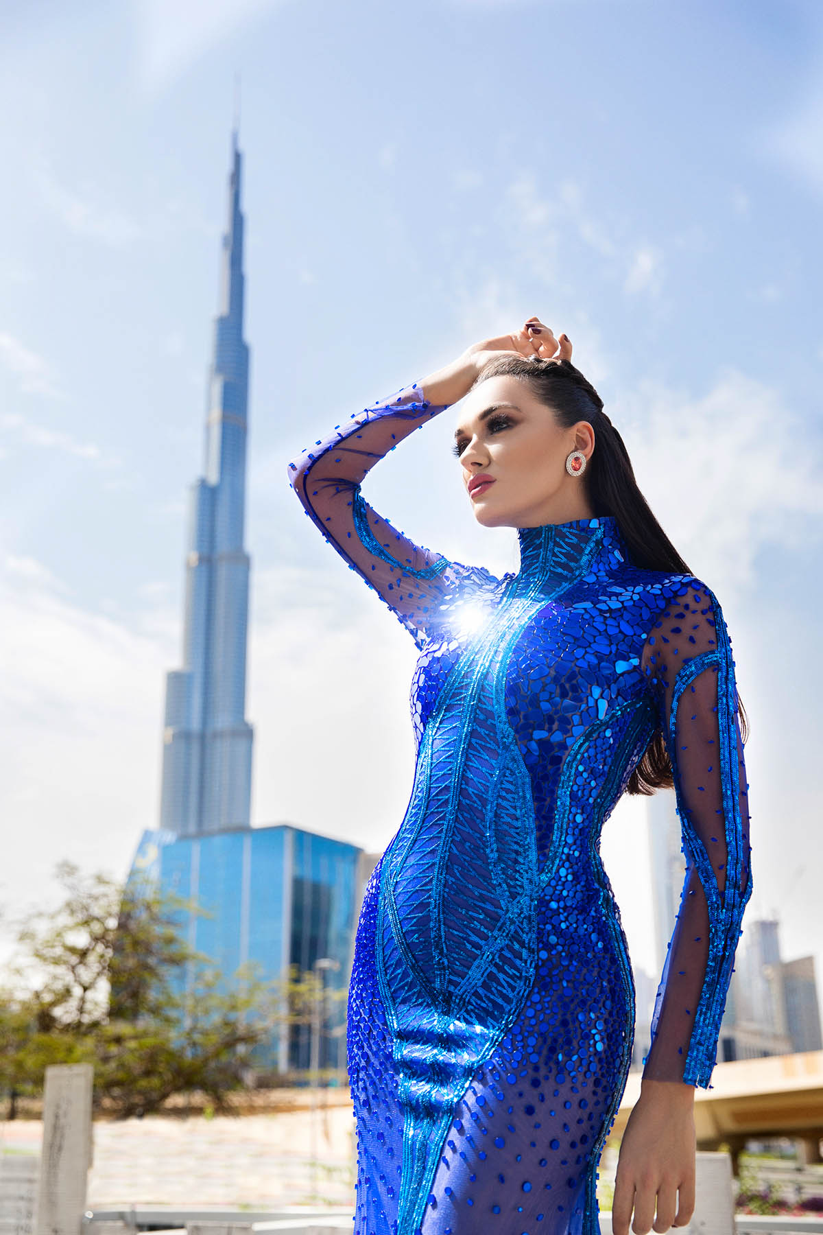 Editorial fashion shoot for Soul Arabia magazine by Loesje Kessels Fashion Photographer Dubai