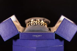 Jewelry display from Chaumet Paris by Loesje Kessels Event Photographer Dubai