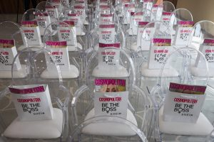 Goodie bags for all the guests at the Cosmopolitan Shein event by Loesje Kessels Fashion Photographer Dubai
