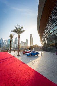 Event set up at the Dubai Opera House party by Loesje Kessels Fashion Photographer