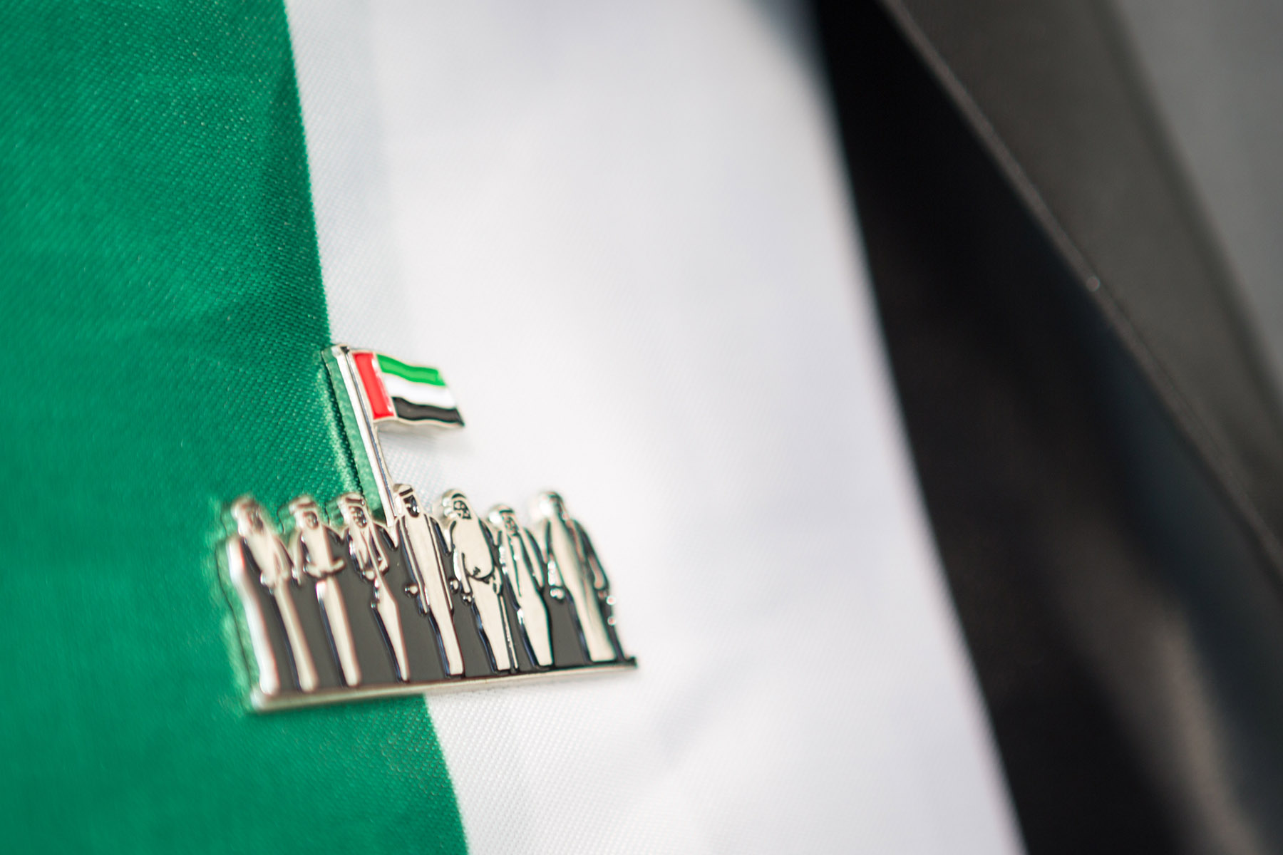 Emaar's UAE National Day pin by Loesje Kessels Fashion Photographer Dubai