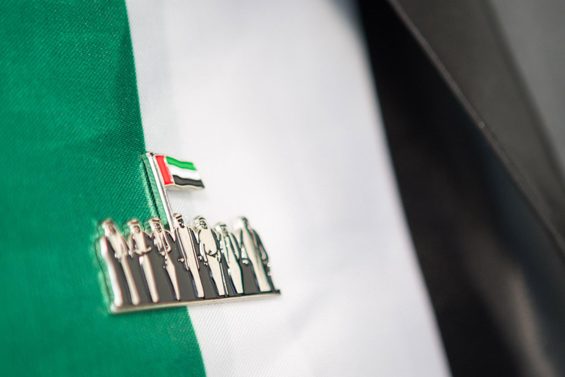 Emaar's UAE National Day pin by Loesje Kessels Fashion Photographer Dubai