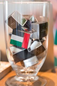 Decorations at Emaar's UAE National Day by Loesje Kessels Fashion Photographer Dubai