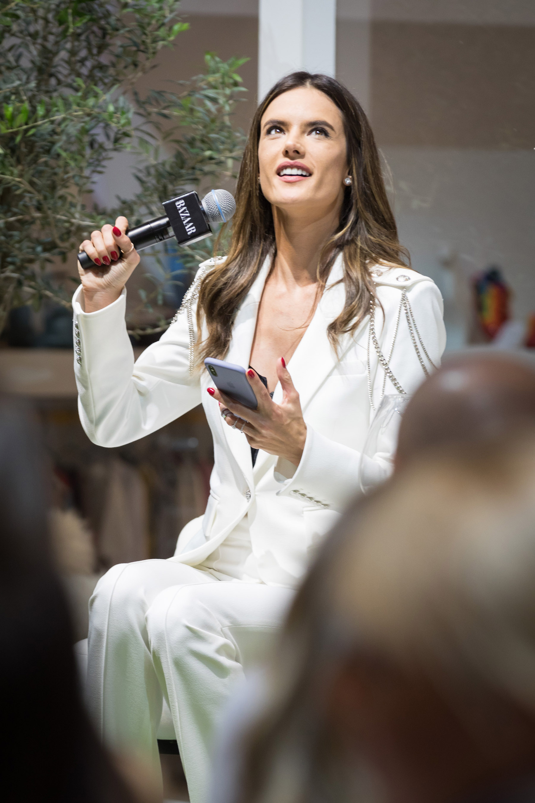 Alessandra Ambrosio at Harpers Bazaar House of Fashion by Loesje Kessels Event Photographer Dubai