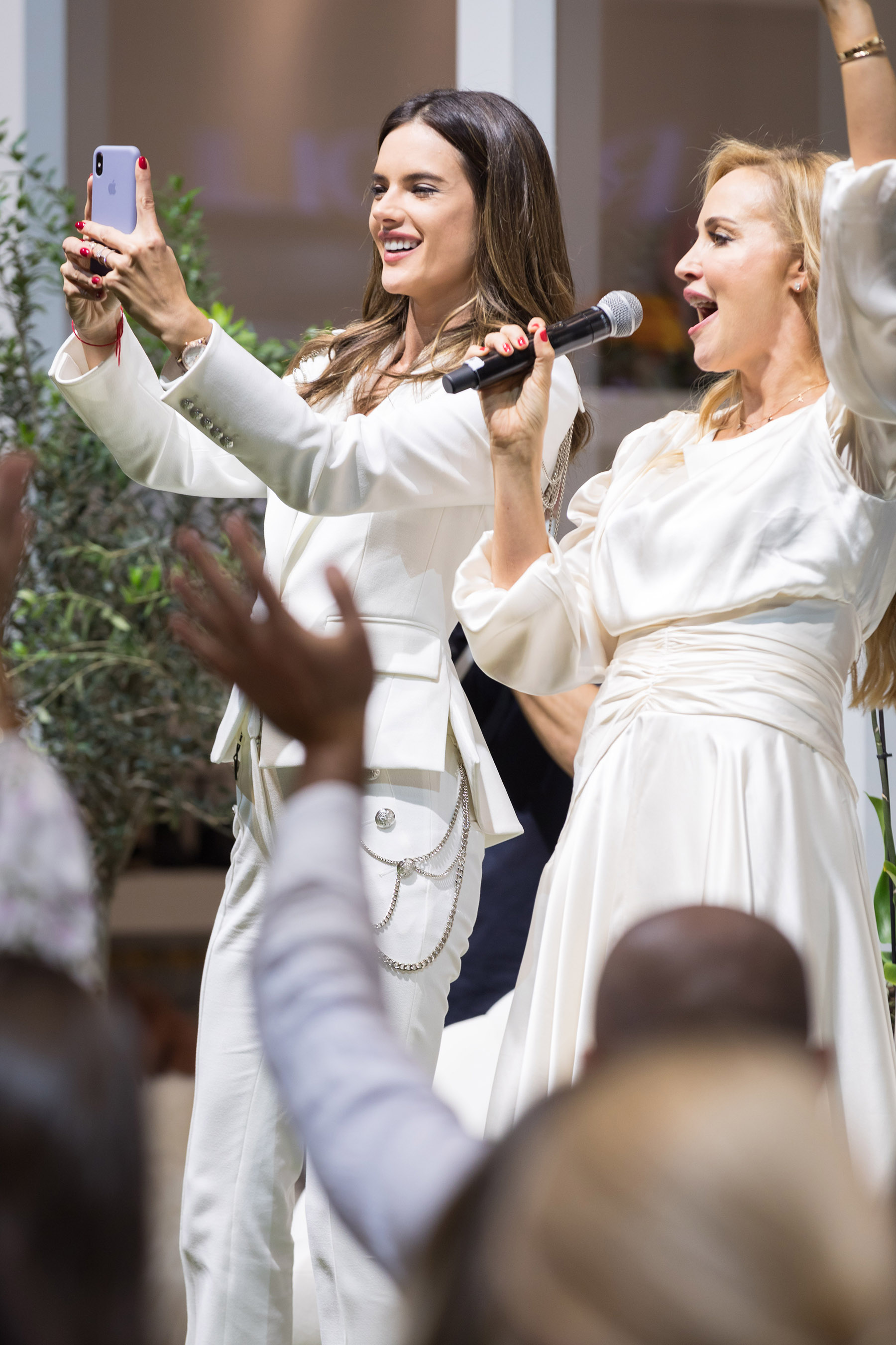 Alessandra Ambrosio and Louise Nichol at Harpers Bazaar House of Fashion by Loesje Kessels Event Photographer Dubai