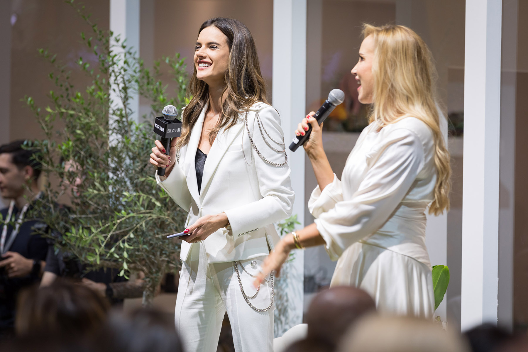 Louise Nichol interviews Alessandra Ambrosio at Harpers Bazaar House of Fashion by Loesje Kessels Event Photographer Dubai
