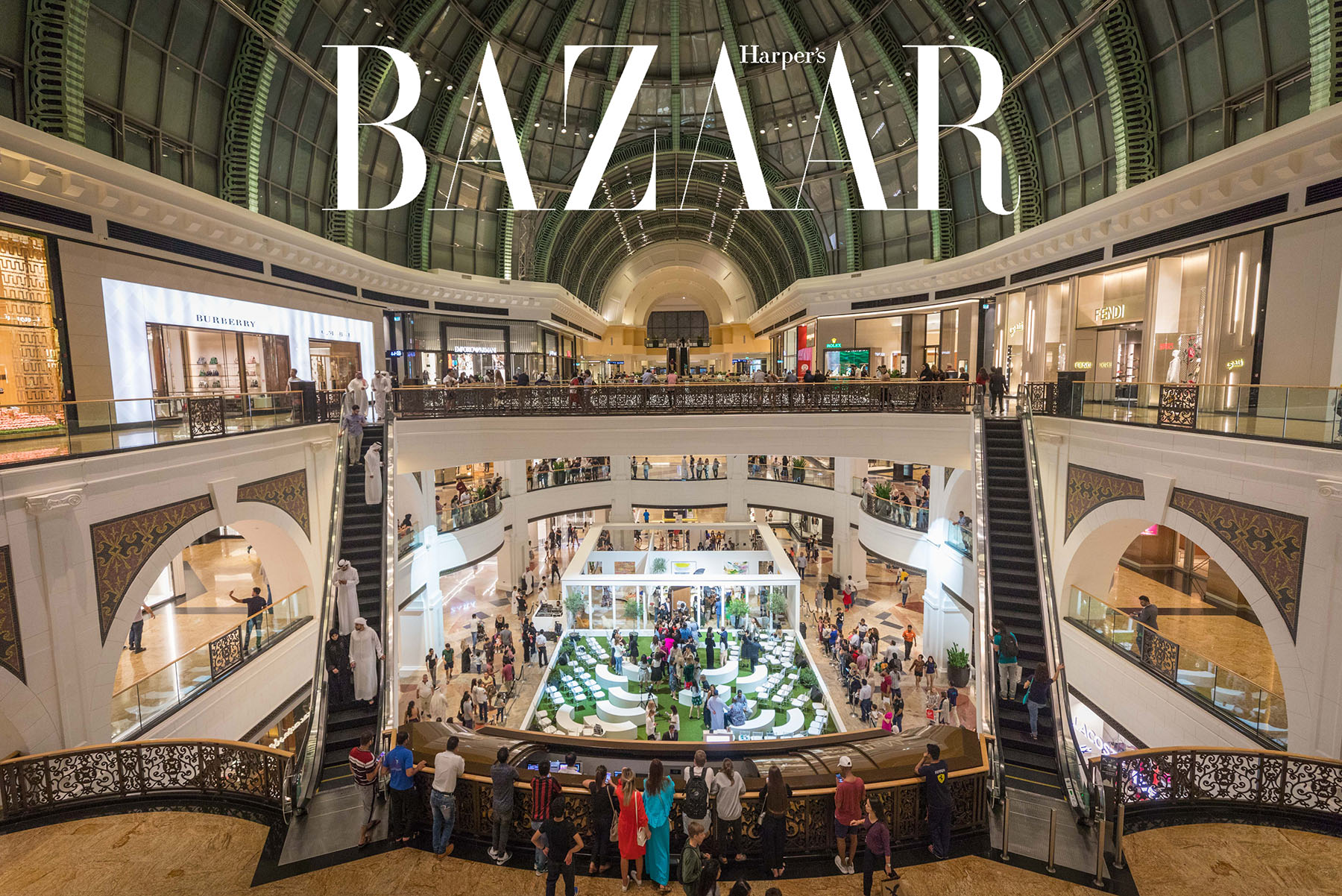 Harpers Bazaar House of Fashion in Mall of the Emirates by Loesje Kessels Event Photographer Dubai