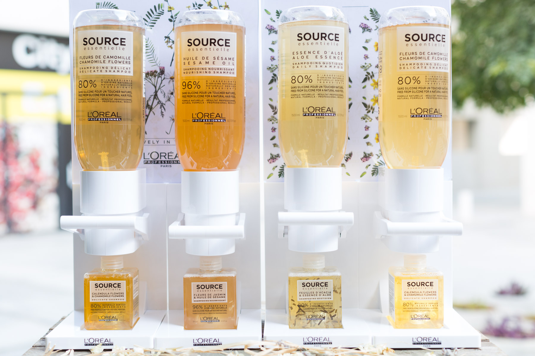 Source Essentielle products from L'Oreal Paris by Loesje Kessels Event Photographer Dubai