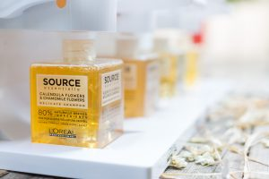 Products at the L'Oreal Source Essentielle launch by Loesje Kessels Event Photographer Dubai