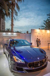 Maserati on display at Art Dubai by Loesje Kessels Fashion Photographer