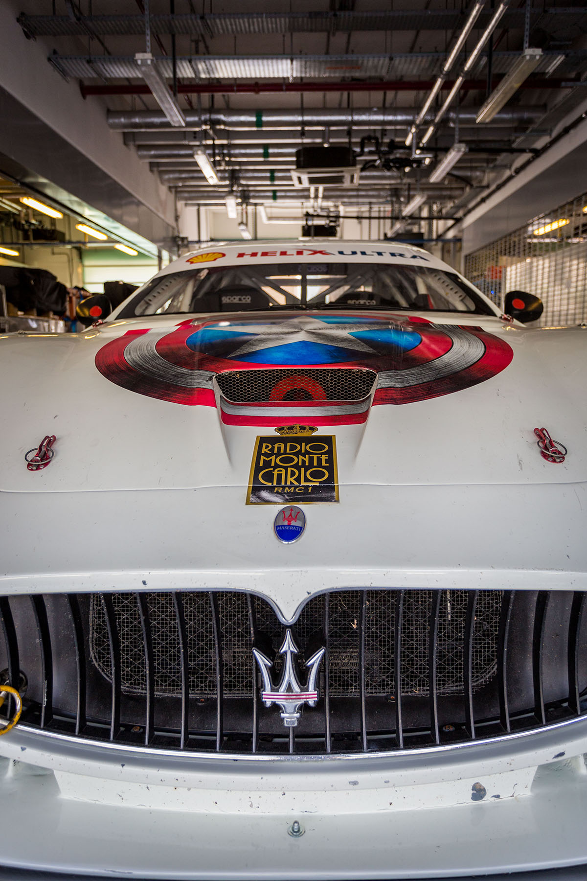 Maserati ready to race the the Trofeo by Loesje Kessels Fashion Photographer Dubai