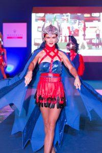 Dancer at the Maserati Trofeo event in Abu Dhabi by Loesje Kessels Fashion Photographer Dubai