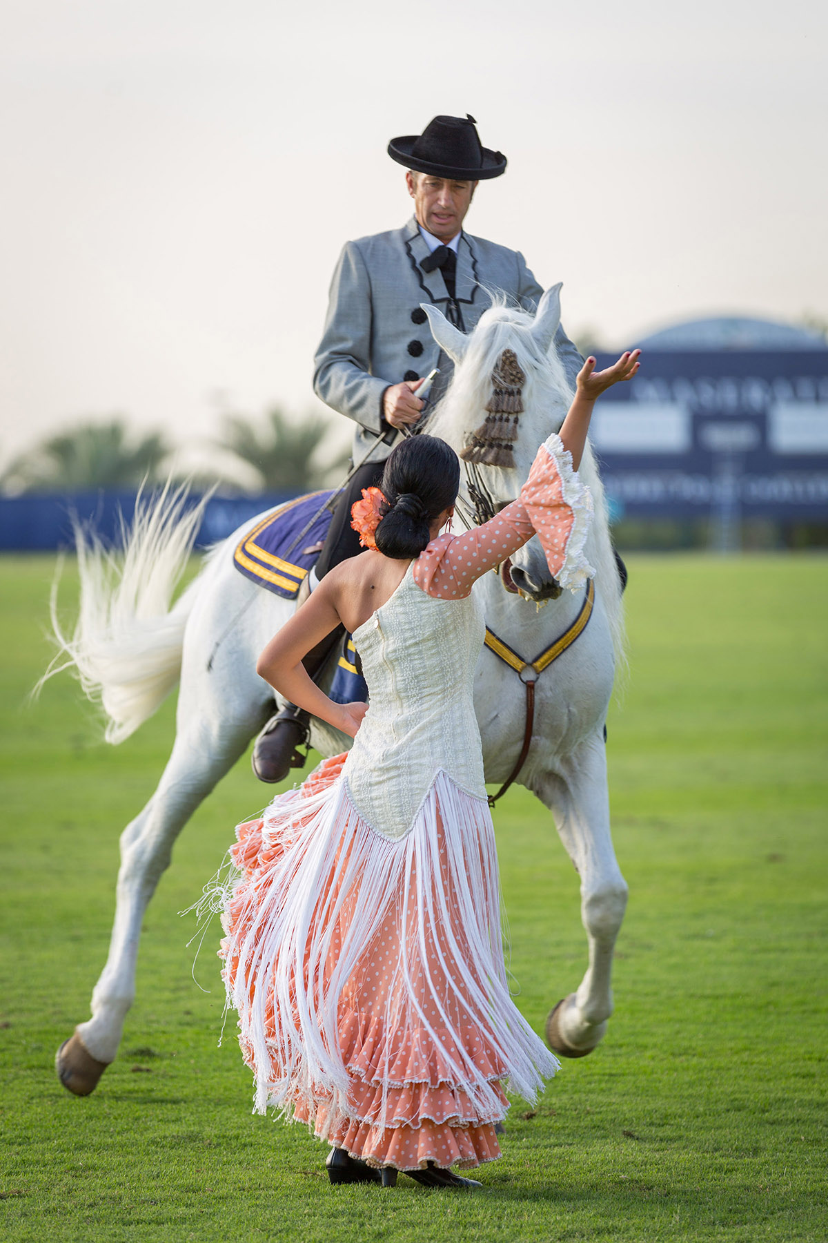 Entertainment at the Maserati Polo event by Loesje Kessels Fashion Photographer Dubai