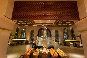 Buffet set up at The Palace Downtown event by Loesje Kessels Fashion Photographer Dubai