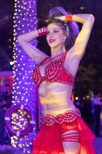 Belly dancer at The Palace Downtown event by Loesje Kessels Fashion Photographer Dubai