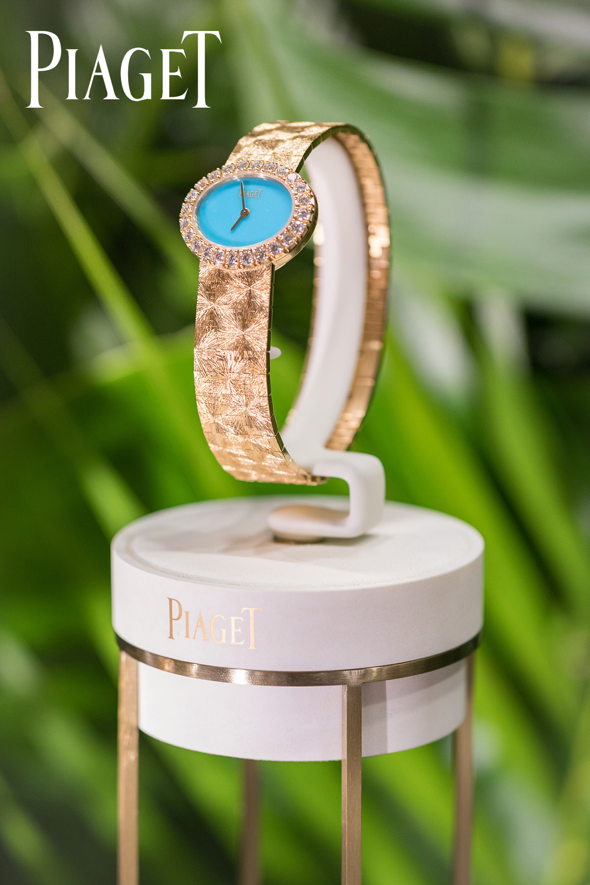 Commercial photography of Piaget female watch by Loesje Kessels Fashion Photographer Dubai
