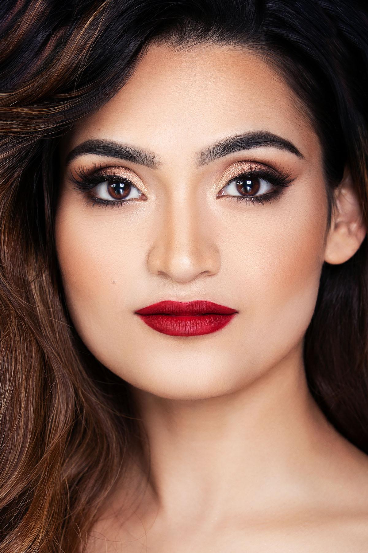 Beauty portrait for Rossano Ferretti Salon by Loesje Kessels Fashion Photographer Dubai
