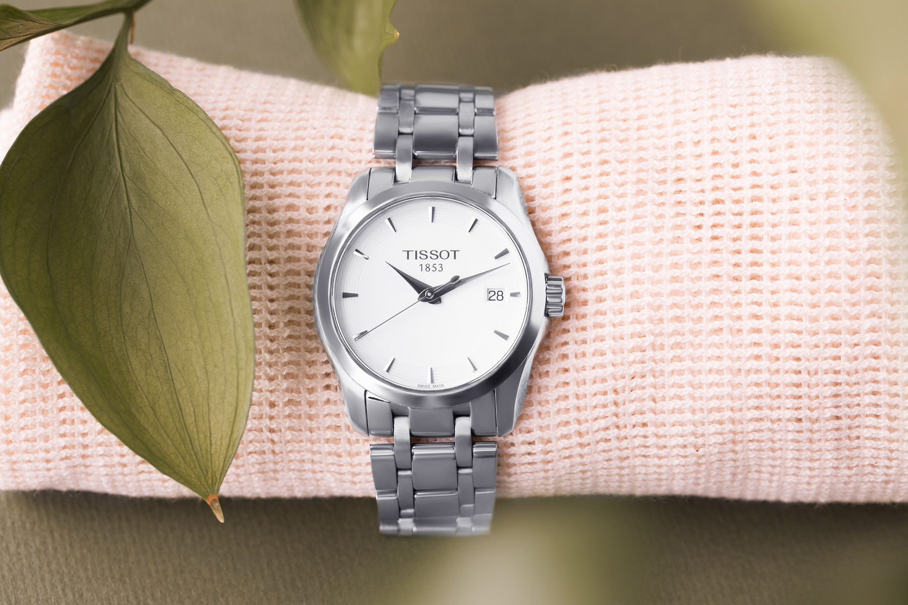 Commercial photography of Tissot watch by Loesje Kessels Fashion Photographer Dubai