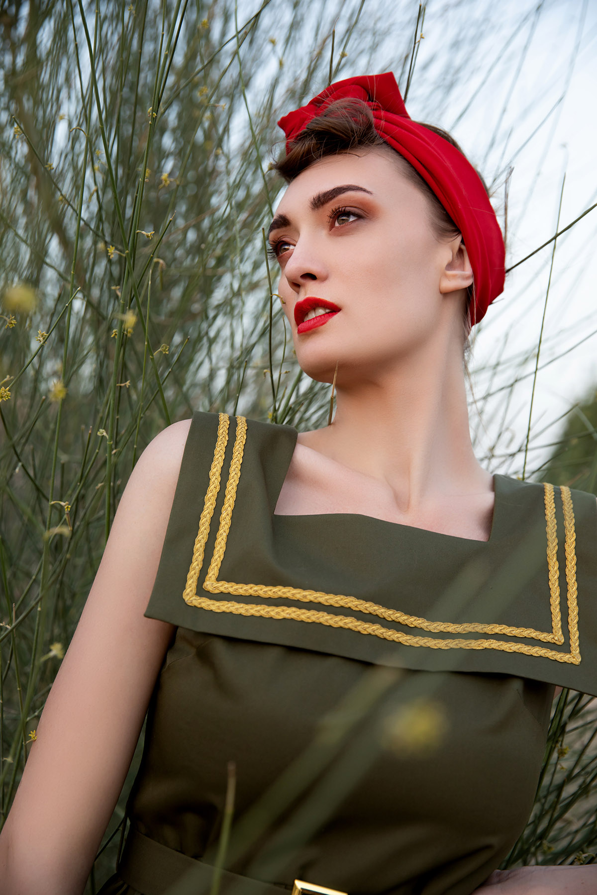 Editorial shoot We Are Mesh by Loesje Kessels Fashion Photographer Dubai
