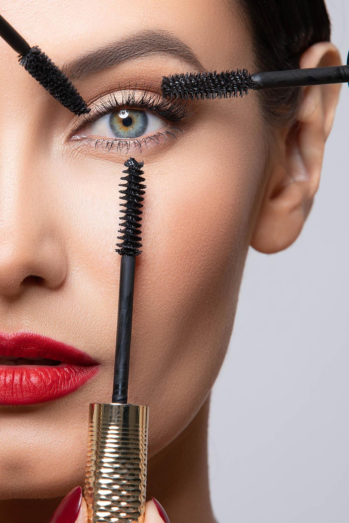 Commercial beauty portrait by Loesje Kessels Fashion Photographer Dubai