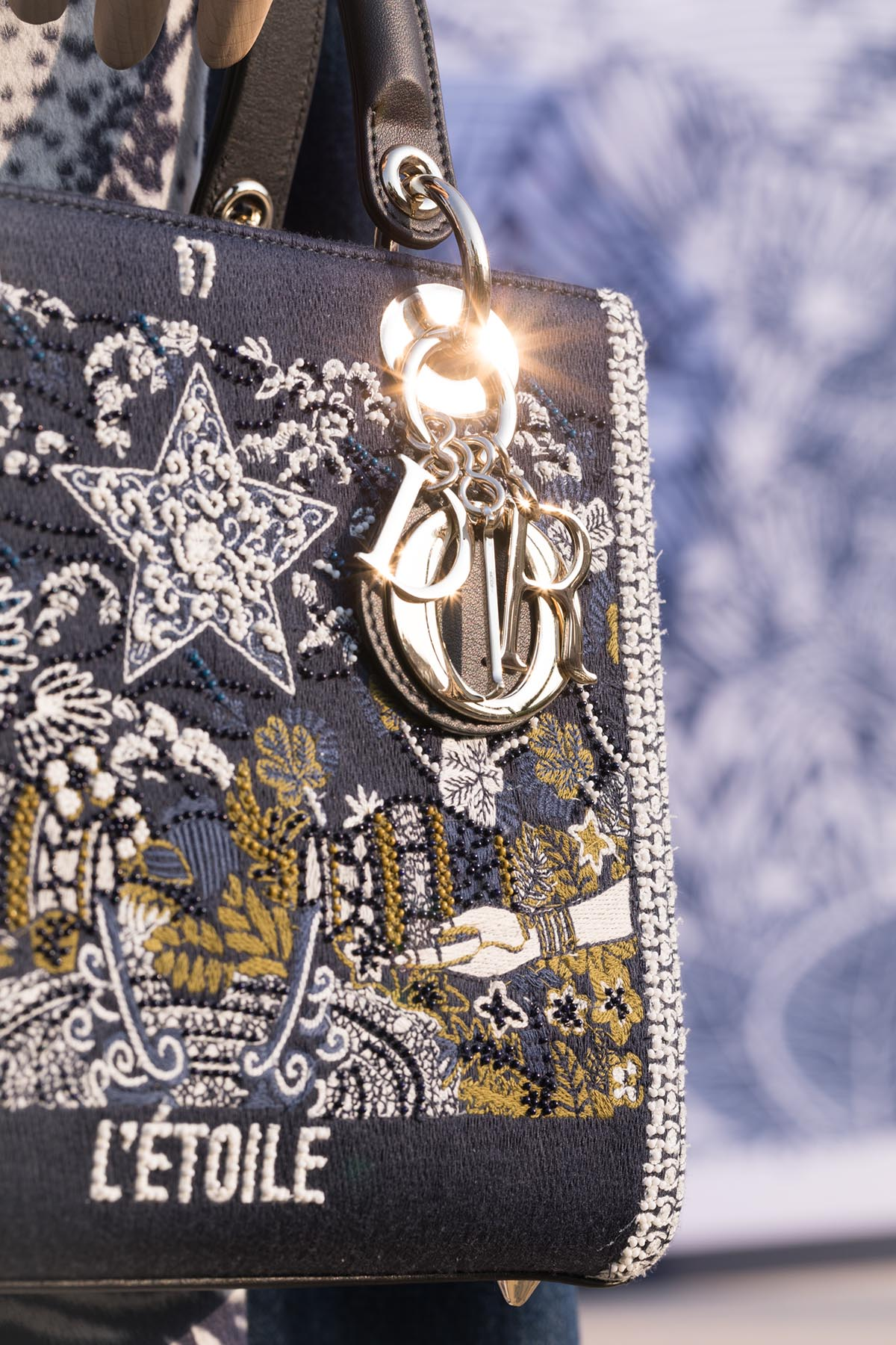 New DIOR Cruise 2020 collection bag L'Etoile by Loesje Kessels Event Photographer Dubai