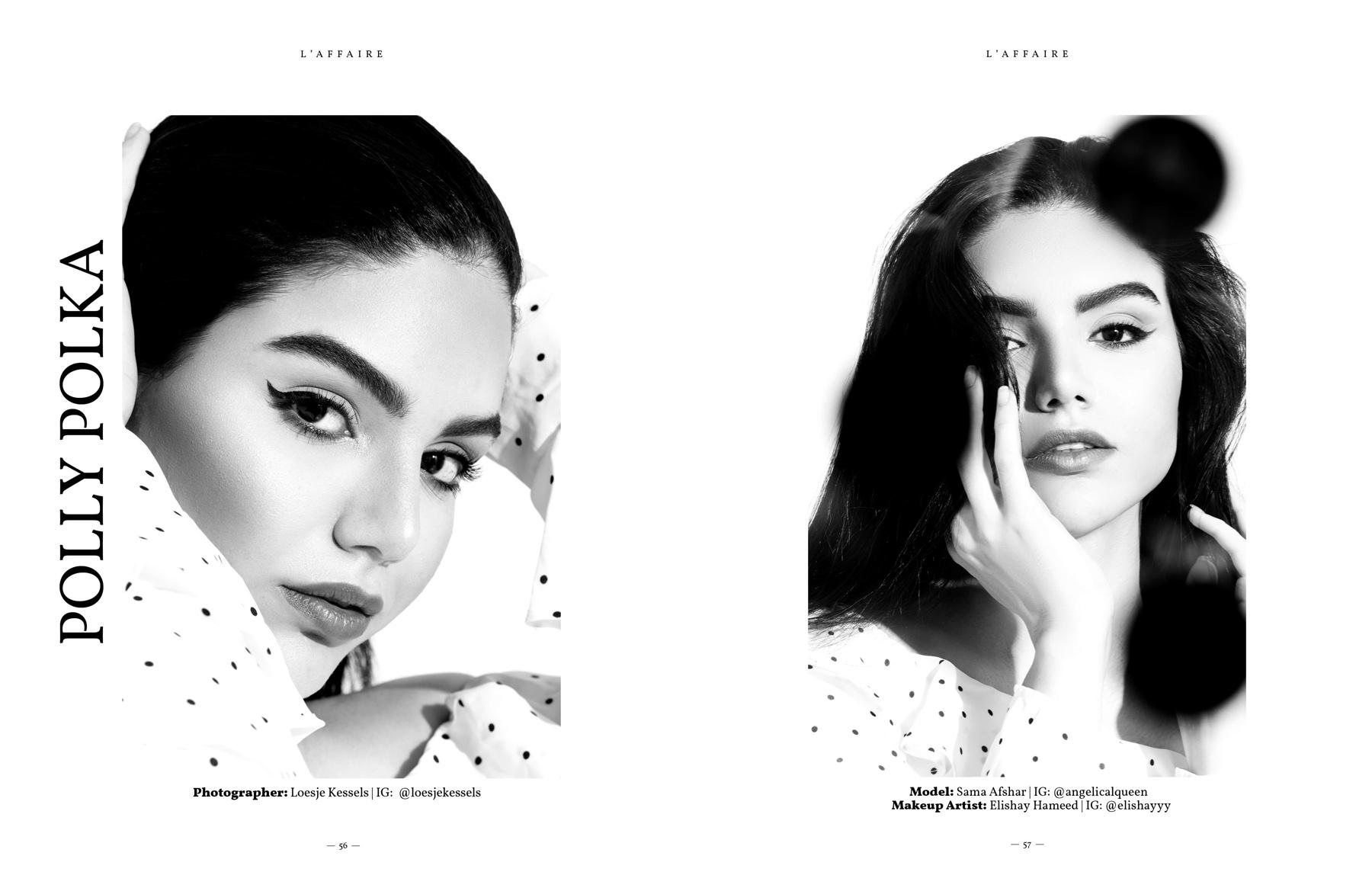Beauty editorial photoshoot by Loesje Kessels Fashion Photographer Dubai