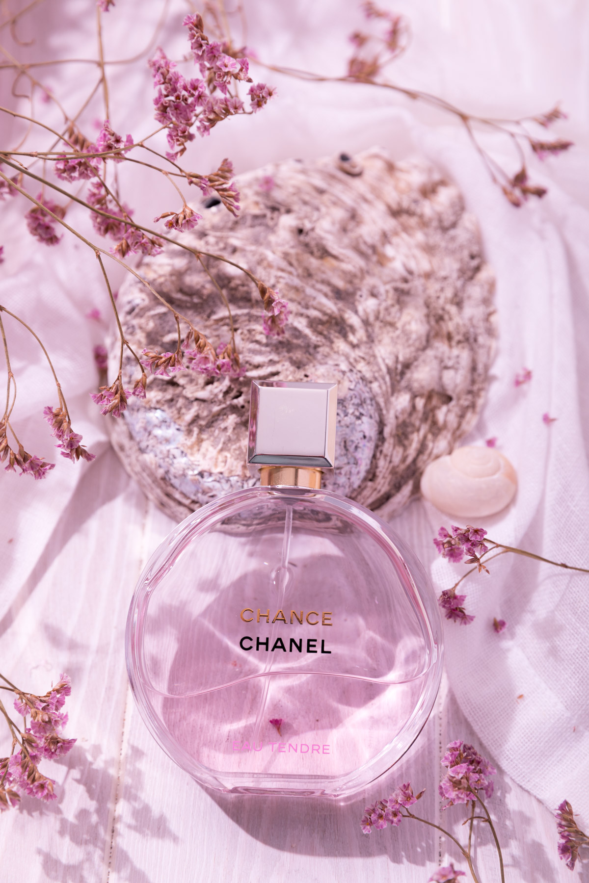 Commercial photography of Chanel Chance perfume by Loesje Kessels Fashion Photographer Dubai