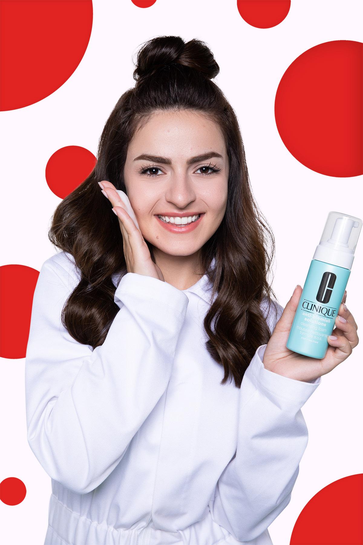 Clinique Anti Blemish Campaign Shoot by Loesje Kessels - Beauty Photographer Dubai