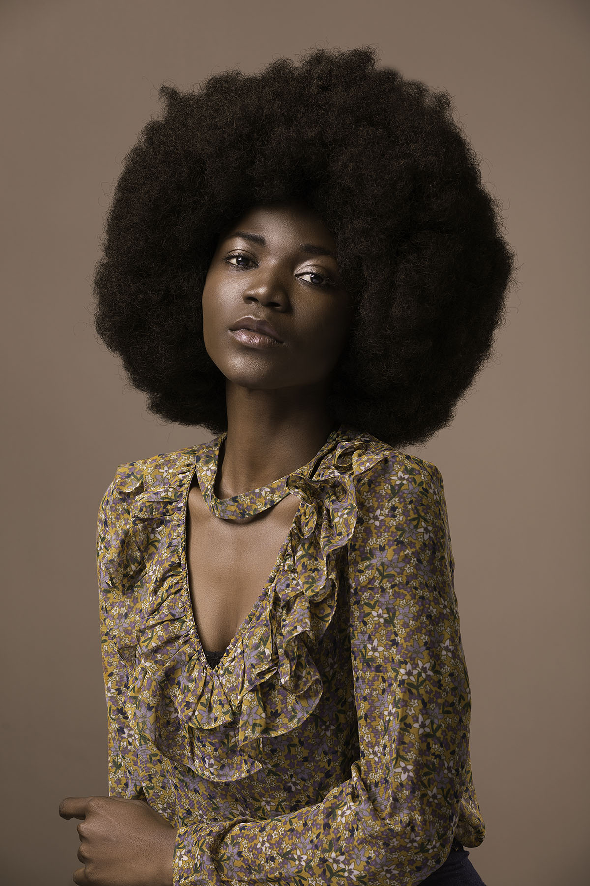 Portrait of Tolani by Loesje Kessels - Beauty Photographer Dubai