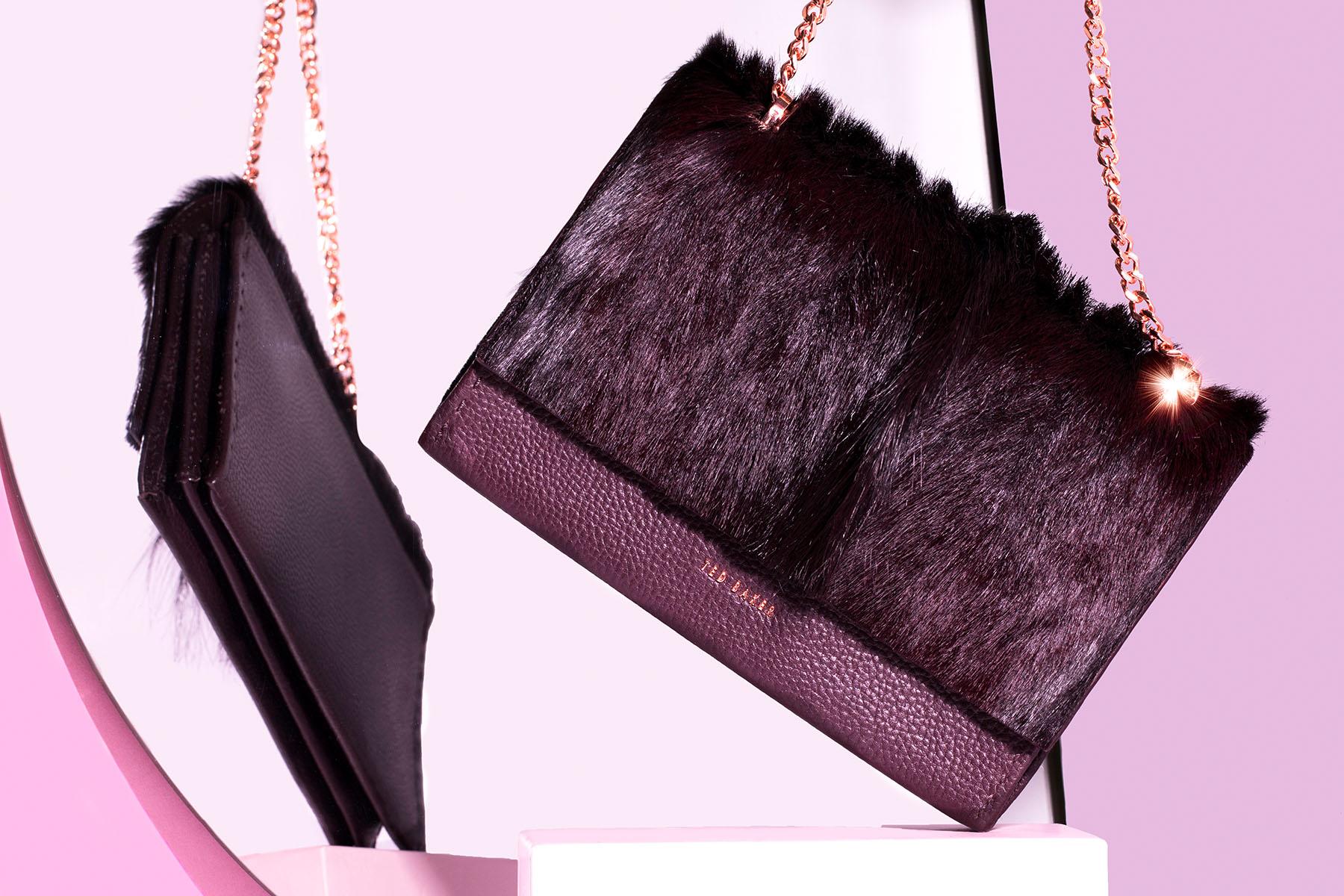 Stil life series by Loesje Kessels of Ted Baker handbag