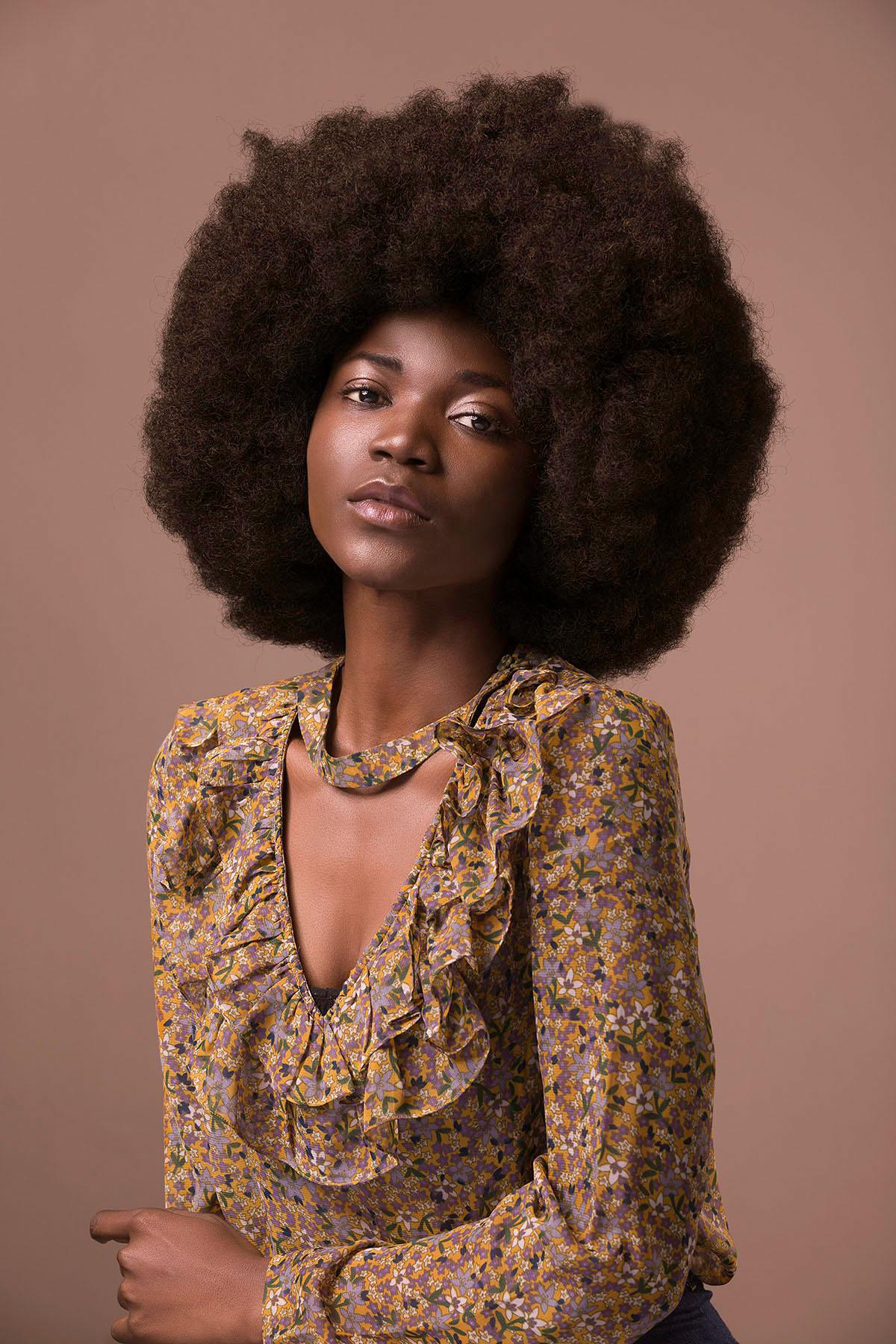 Portrait of Tolani by Loesje Kessels - Beauty Photographer Dubai
