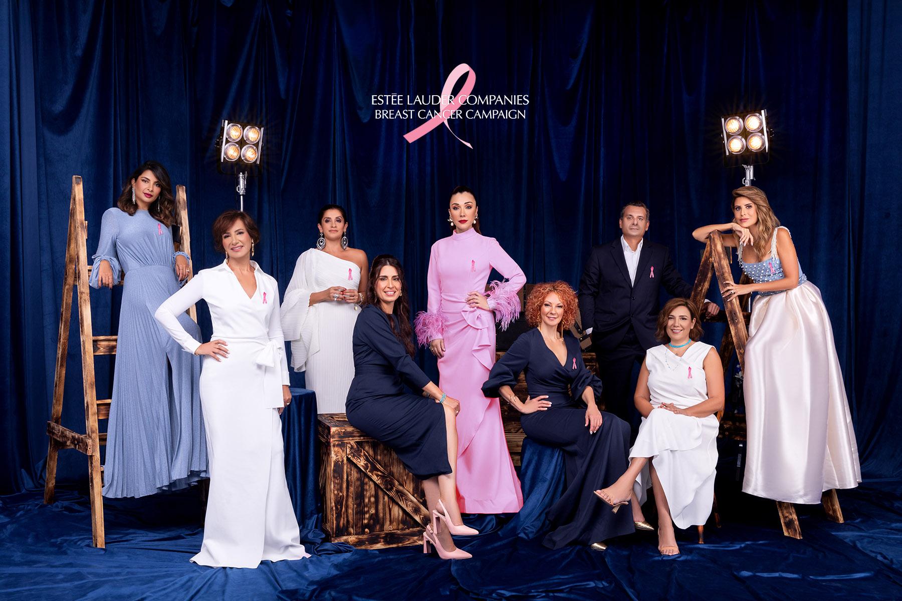 Estée Lauder Breast Cancer Campaign by Loesje Kessels - Fashion Photographer Dubai